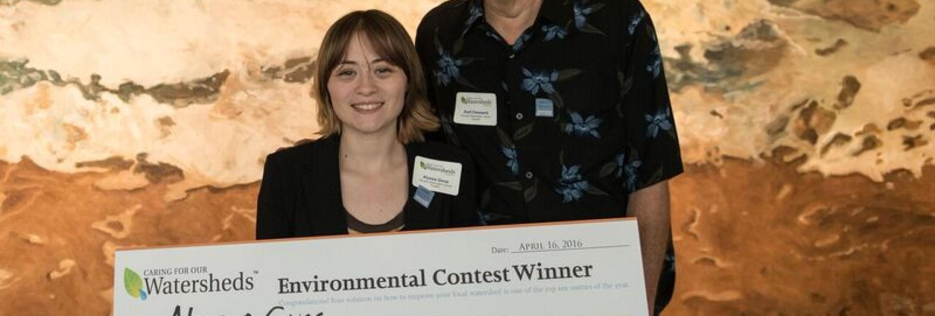 Image of Carver student is finalist in regional environmental contest