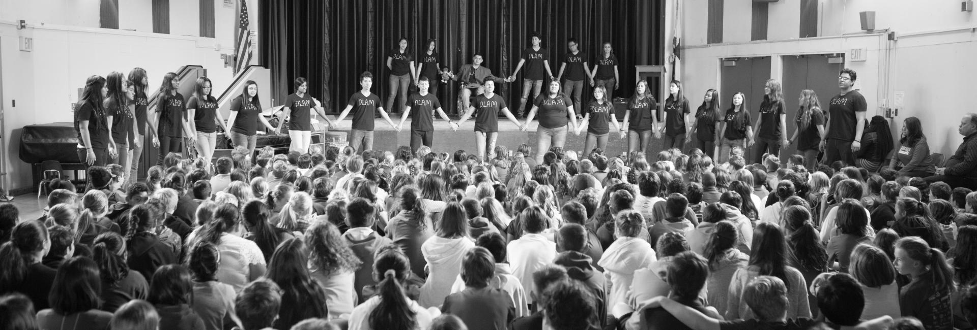 Image of 'Powerful' anti-bullying assembly at Crocker-Riverside