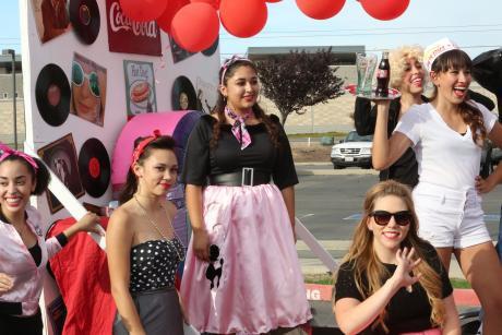 Juniors paid homage to the 1950s