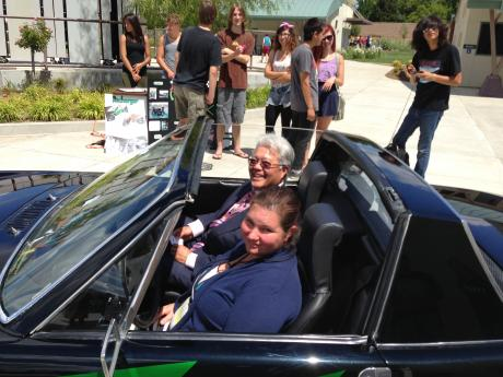 SCUSD Trustee Darrell Woo gets a ride