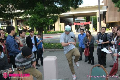 Henry Le of CKM enjoys a workshop on dancing. (Click photo to see more.)