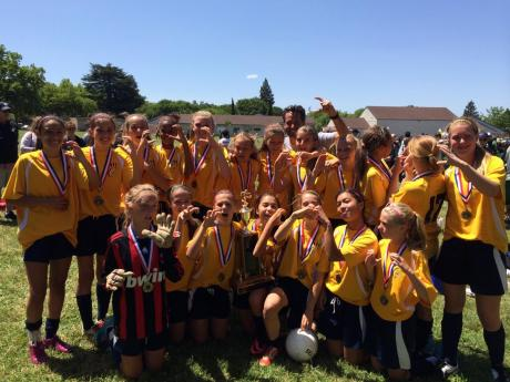 Cal's 2014 City Soccer Champs