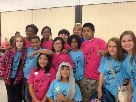 MLK Robotics Team students. Click to see Matsuyama's team.