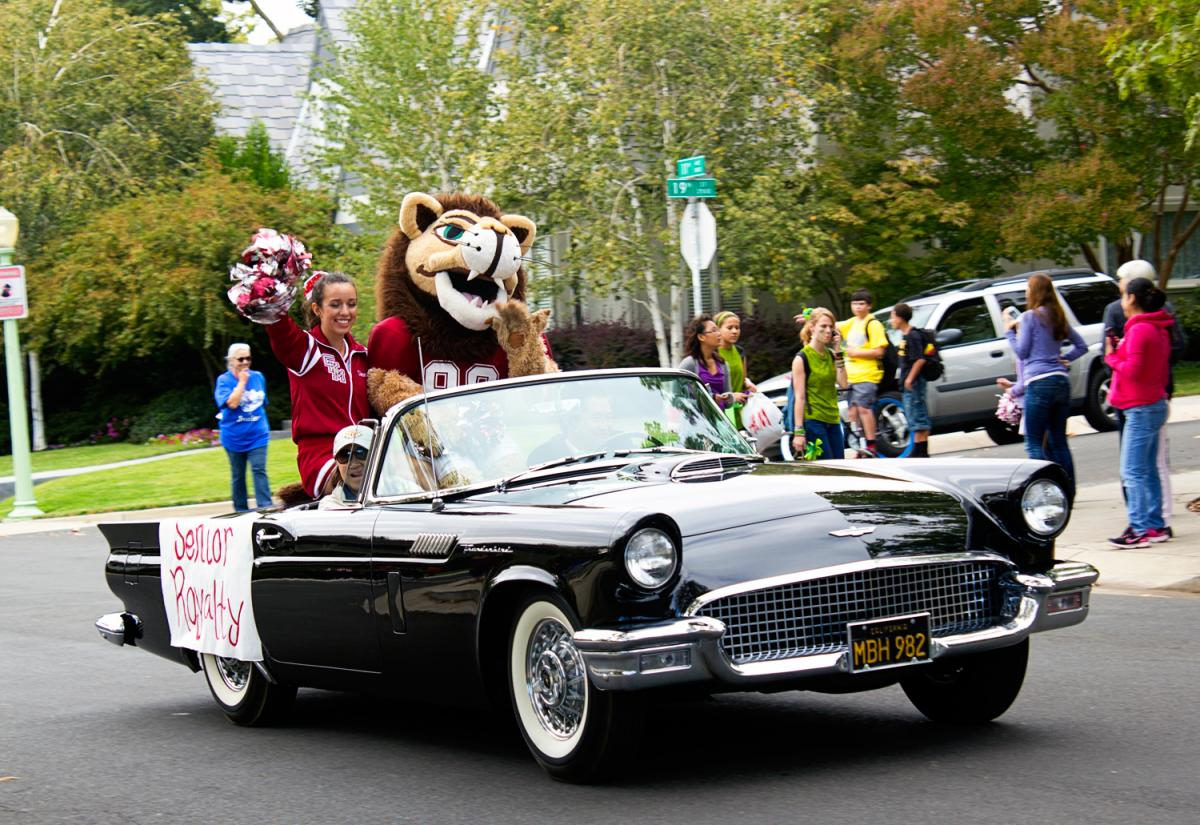 McClatchy Homecoming Parade
