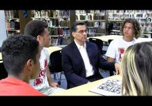 "SCUSD Alumni and Attorney General Xavier Becerra encourages class of 2017 to ""get in the way"""