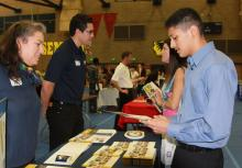 Students attend Sac City Unified College Fair