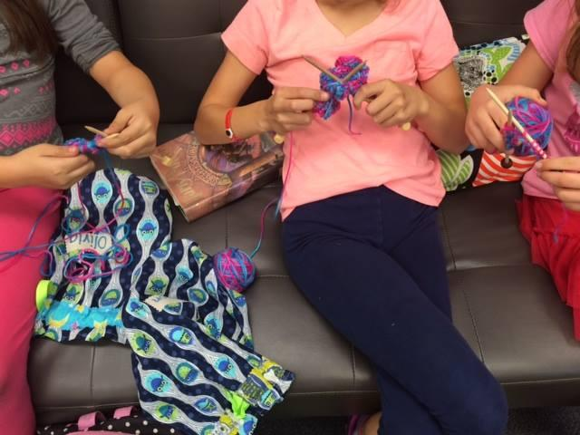 Image of David Lubin students learn hula, knitting, Spanish after school