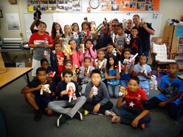Image of Harkness students donate gifts for troops