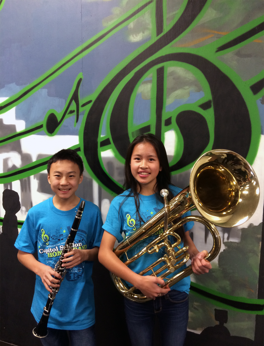 Image of Sutter Middle School musicians selected for Honor Band