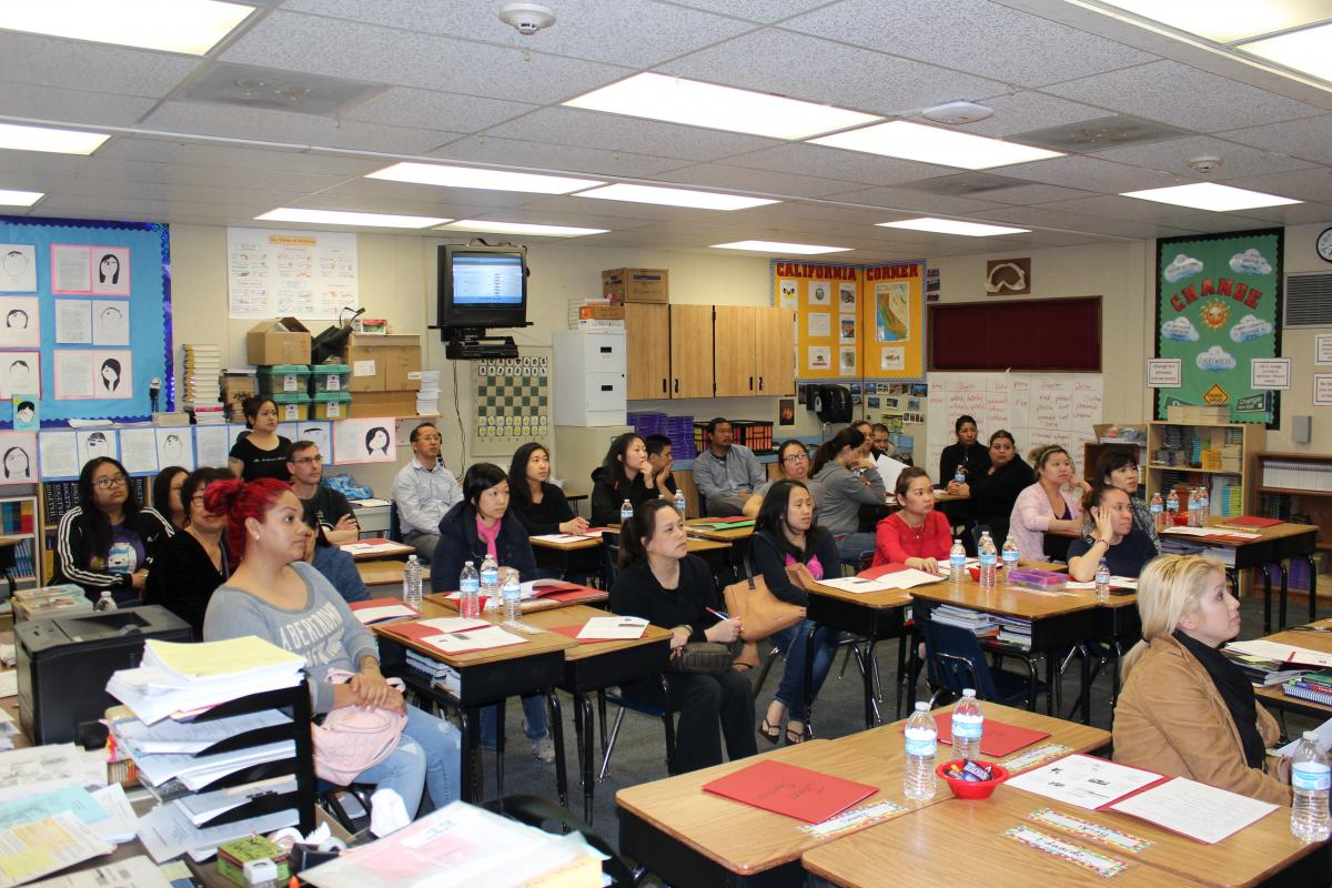 Image of Camellia Academic Teacher Team meetings empower parents