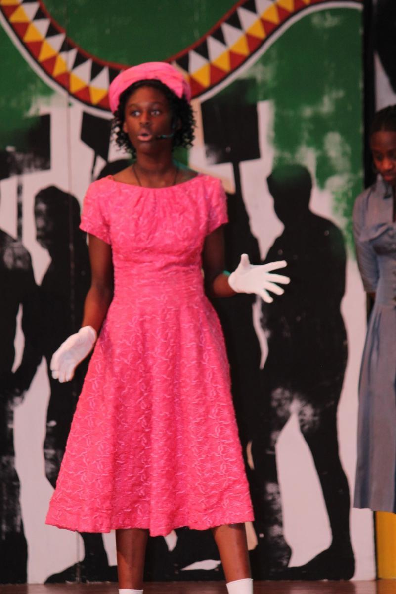 Image of John Still students celebrate Black History Month
