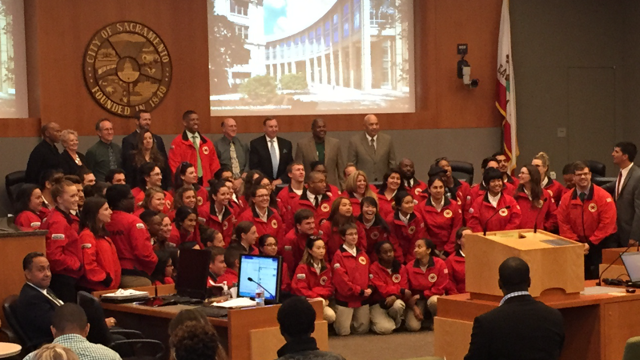 Image of Fern Bacon's City Year program ranks highly