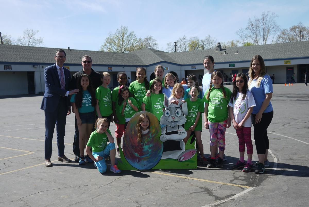 Image of Save Mart teams up with David Lubin's Girls-on-the-Run team