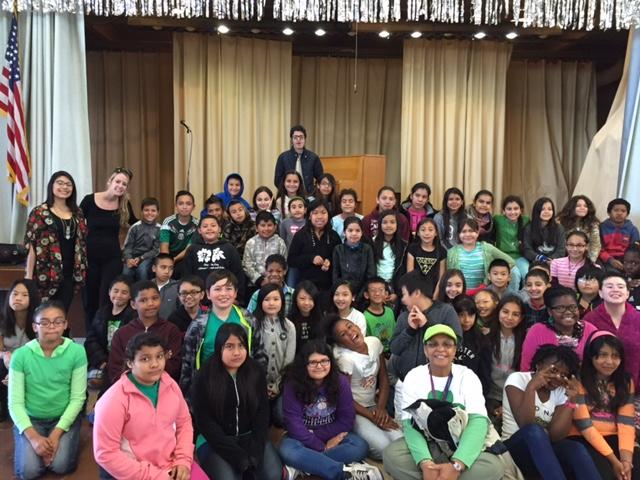 Image of Pianist from Mexico inspires Nicholas Elementary students