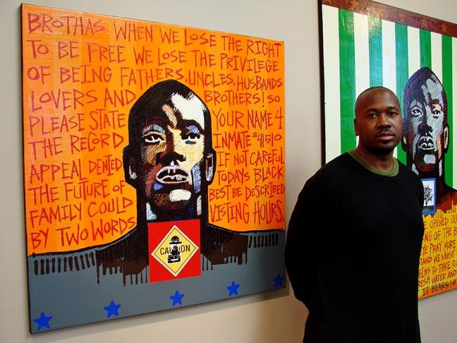 Image of Celebrated artist Milton Bowens keynote speaker for 'The Art of Caring'