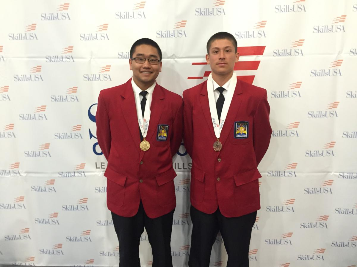 Image of Hiram Johnson Law Academy students win medals at SkillsUSA competition