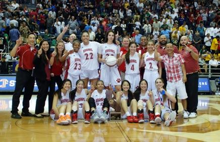 Image of Community rallies to honor state champion Lady Lions