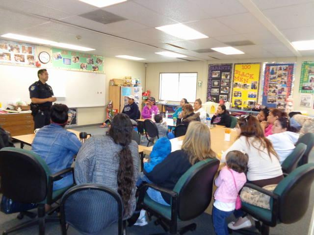 Image of Harkness parents learn about bullying