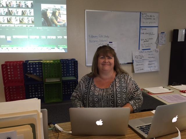 Image of Fern Bacon teacher named PBS 2015 Digital Innovator