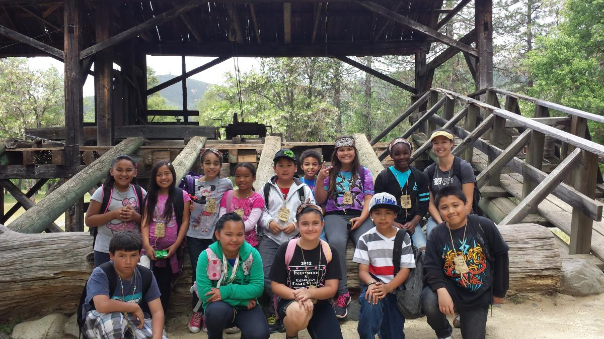 Image of Hollywood Park students learn Gold Rush history in Coloma