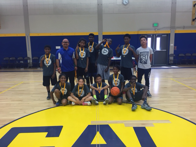 Image of Cabrillo wins Cal Middle Junior Bears basketball league