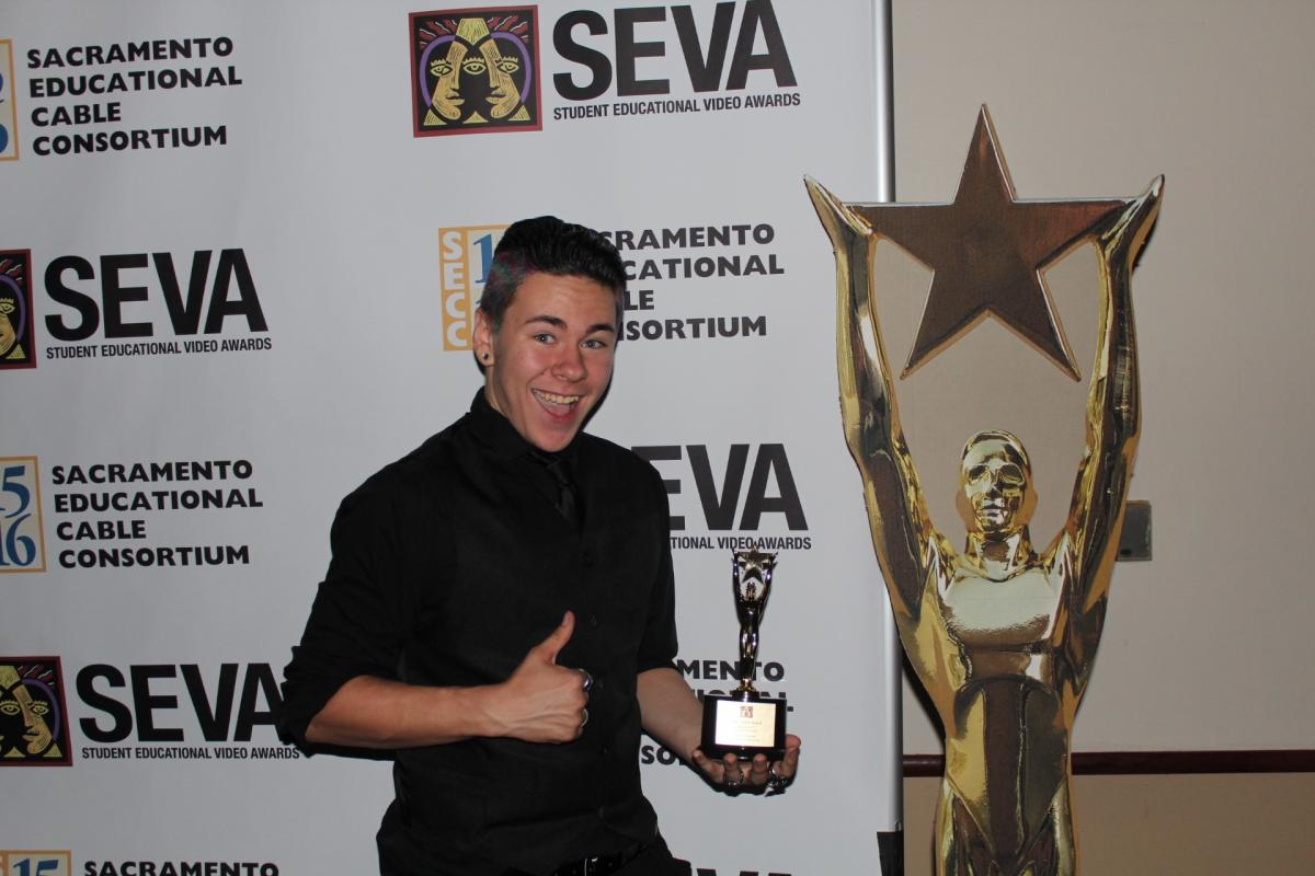 Image of Burbank, Sutter students win SEVAs at Sac State