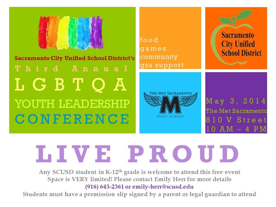 Image of Live Proud Youth Leadership Conference draws students from seven schools