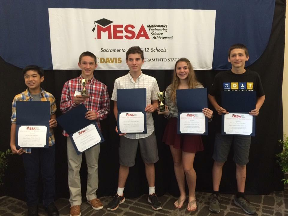 Image of SCUSD middle school students take top MESA honors