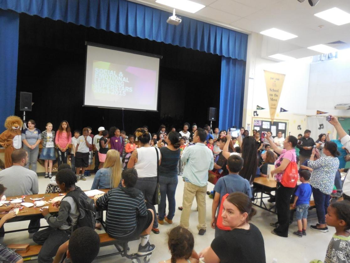 Image of Rosa Parks SEL Showcase and Family Night