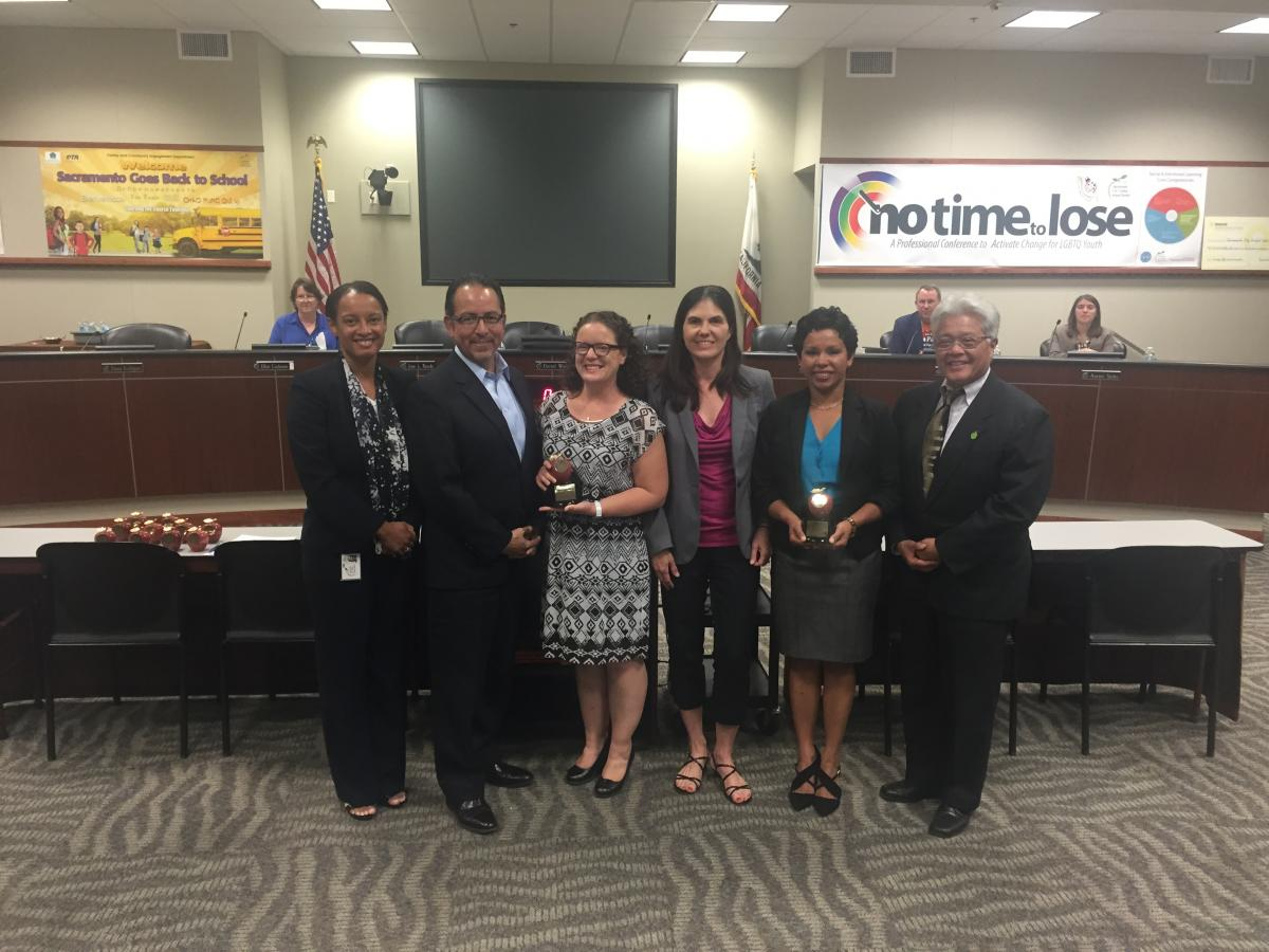 Image of Board honors Teachers of the Year, Classified Champions