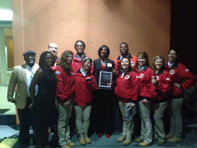 Image of Father Keith B. Kenny's Johnson honored by City Year