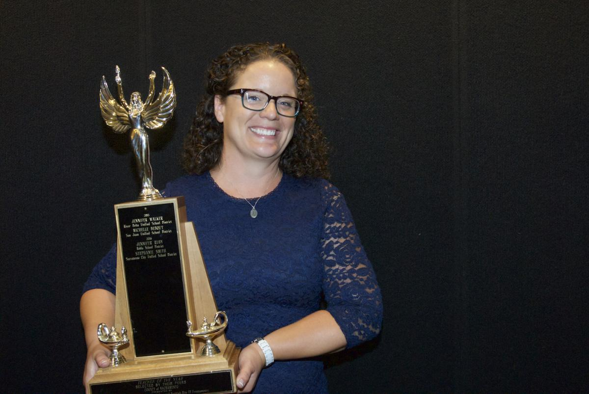 Image of SCUSD's Stephanie Smith wins county Teacher of the Year