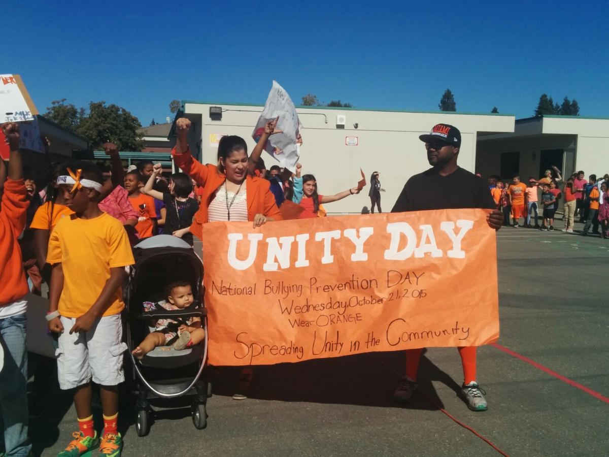 Image of Martin Luther King Jr. K-8 Unity March raises bullying awareness