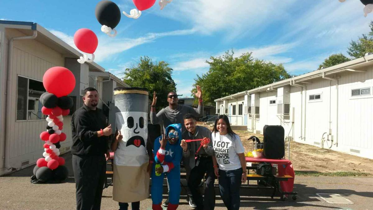Image of Red Ribbon Week kicks off at Parkway Elementary
