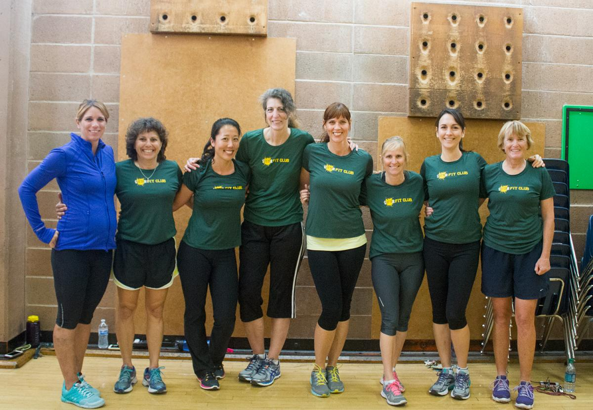 Image of Sutter faculty is 'Fit to Teach' with new workout initiative