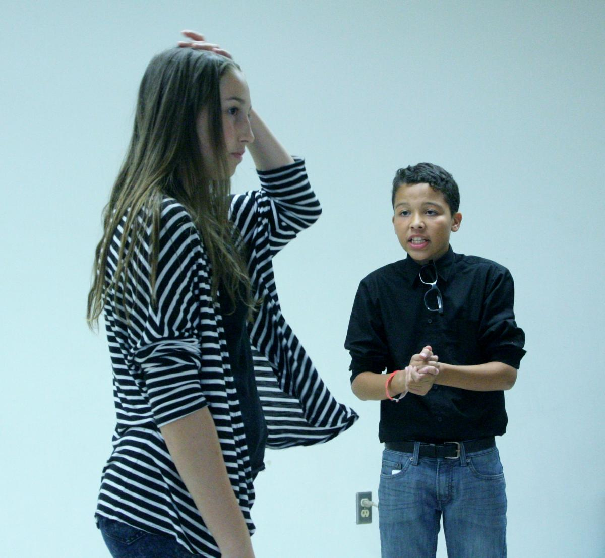 Image of Einstein students prepare for debut on Mondavi Center stage