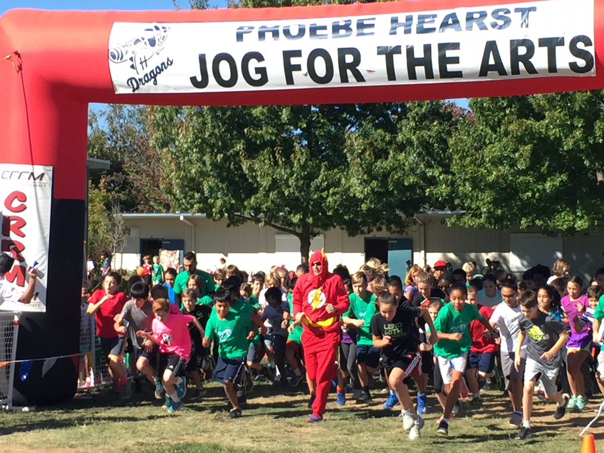Image of Phoebe Hearst's Jog-a-Thon sets new fundraising record
