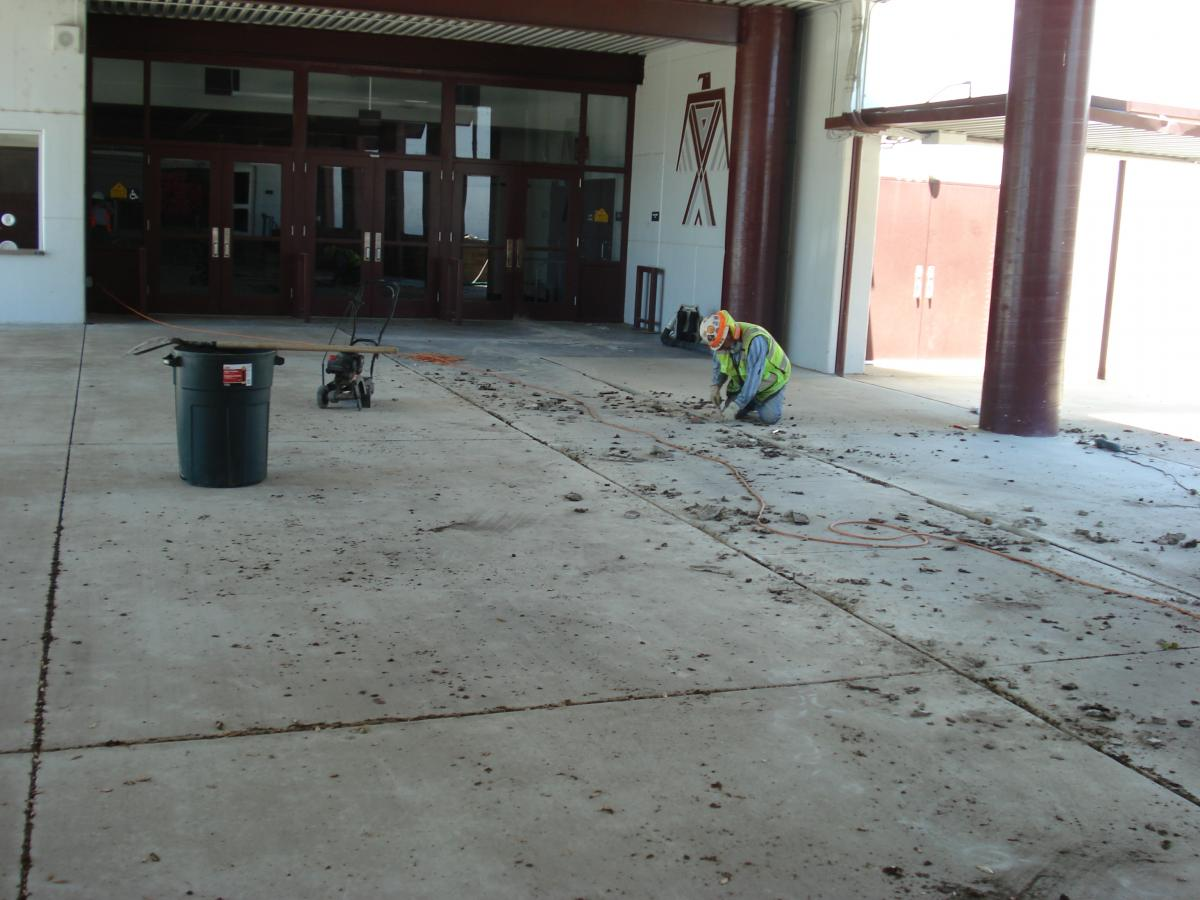 Image of Hiram Johnson Concrete Replacement
