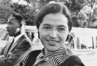 Image of Rosa Parks: The first lady of civil rights