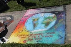Image of Teen artists get creative at 'Chalk It Up'