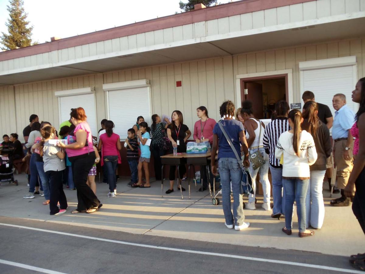 Image of Cesar Chavez Back to School Night