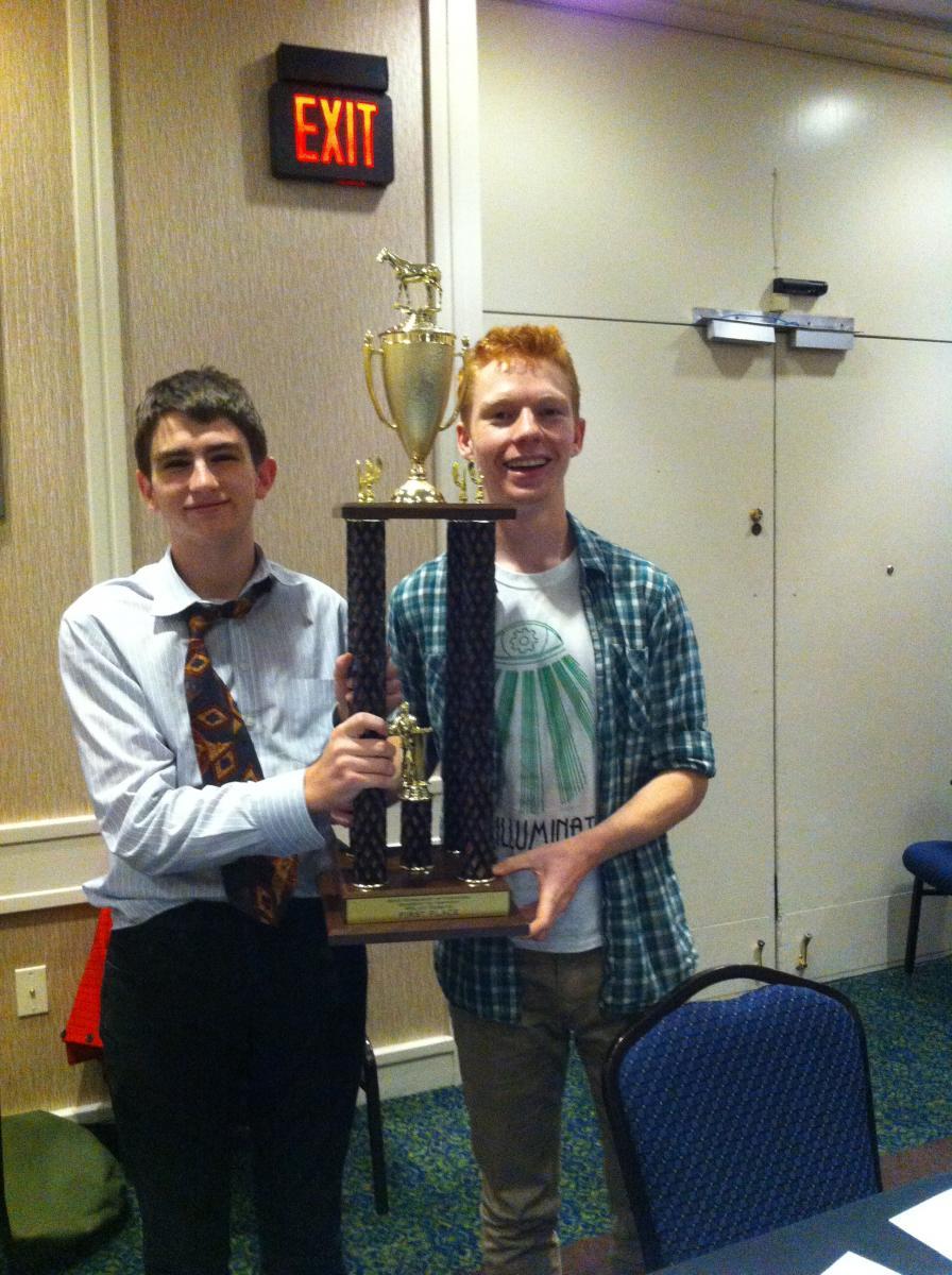 Image of McClatchy duo wins high school debate 'Super Bowl'