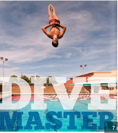 Image of McClatchy diver competes for state CIF championship this week