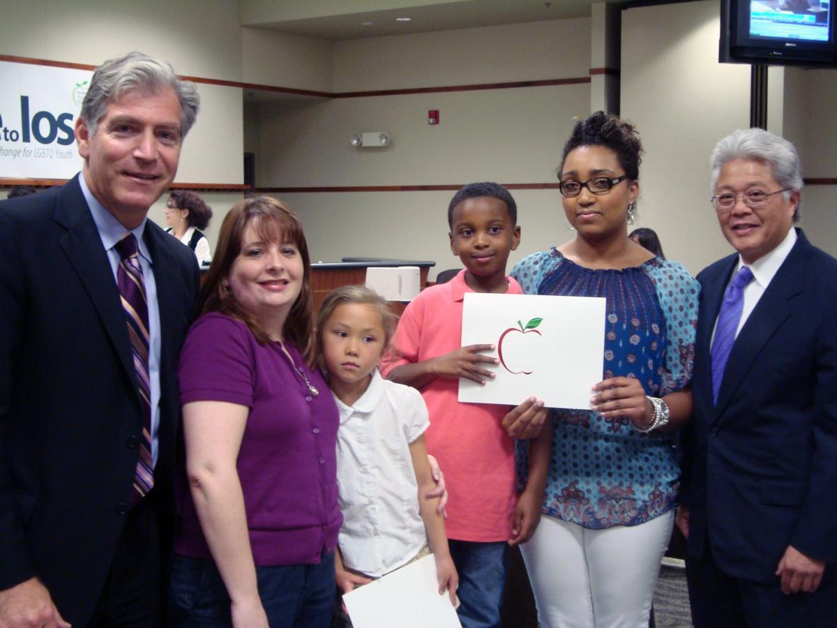 Image of 'Heimlich Heroes' Honored by Board