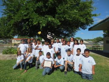 Image of Harkness class among winners of 'Be Water Smart' contest