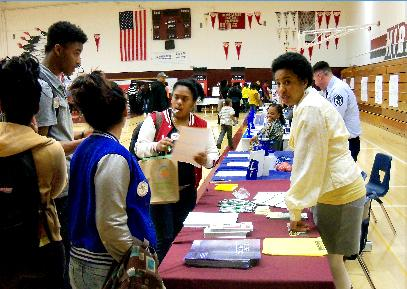 Image of Black Student Union hosts family night at Hiram Johnson