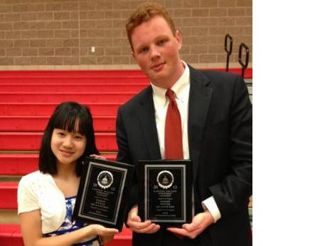 Image of Kennedy speech and debate duo move on to state tournament