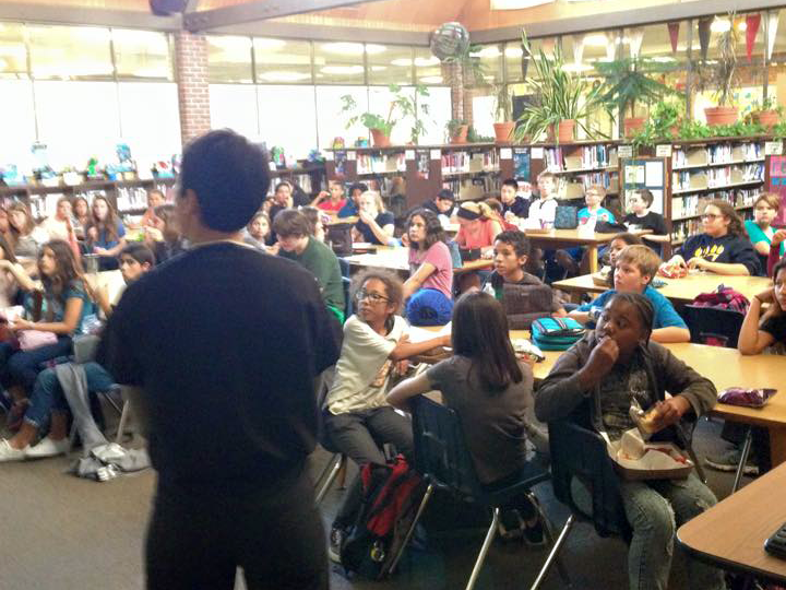 Image of California Middle School kicks off career awareness initiative