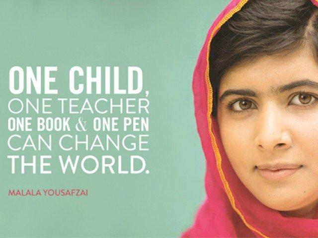 Image of Fern Bacon students find inspiration in Malala's story