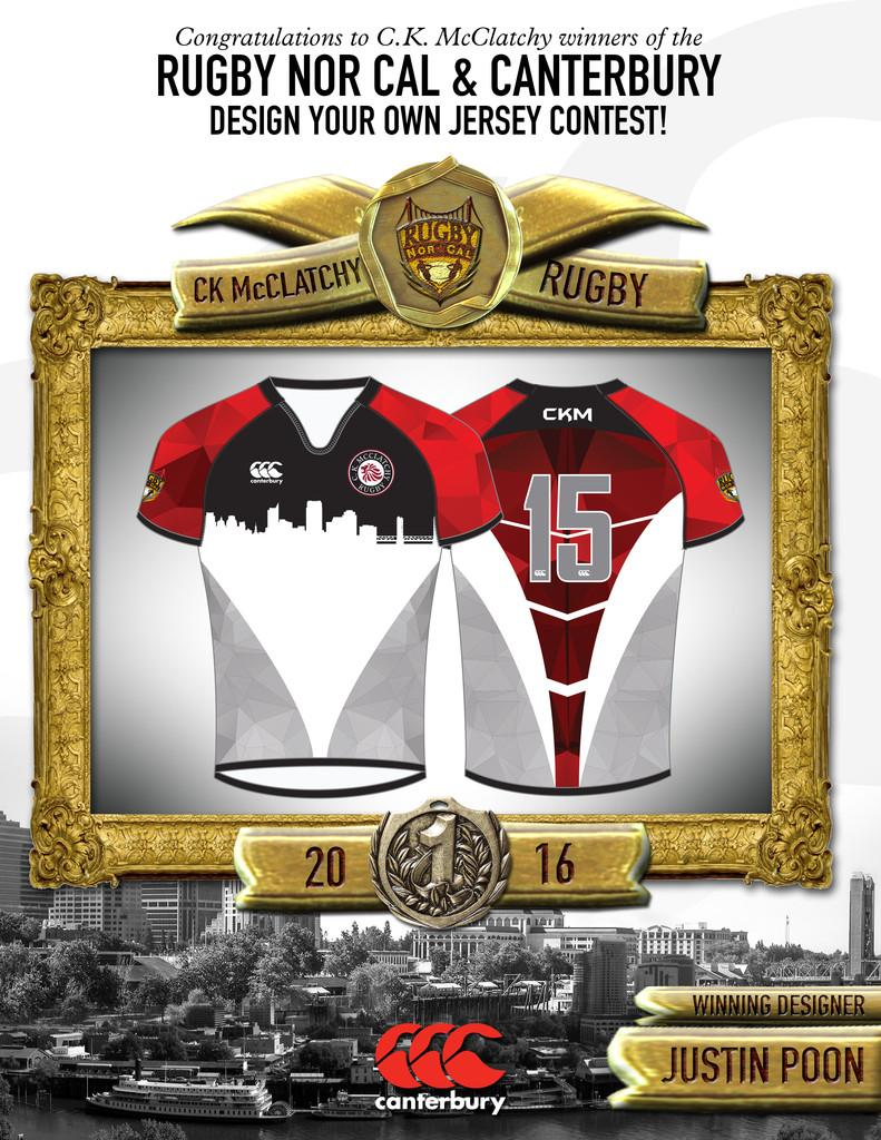 Image of McClatchy student wins rugby jersey design contest